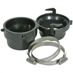 RV Sewer Hose Fitting Kit by Camco