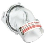 Clear RV Sewer Fitting by Camco