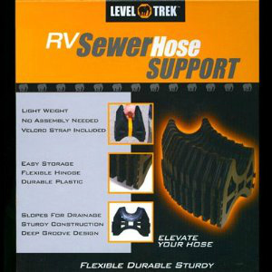 RV Sewer Hose Support Folding and Flexible